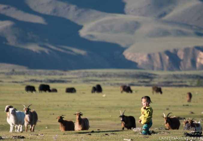jeune nomade en Mongolie