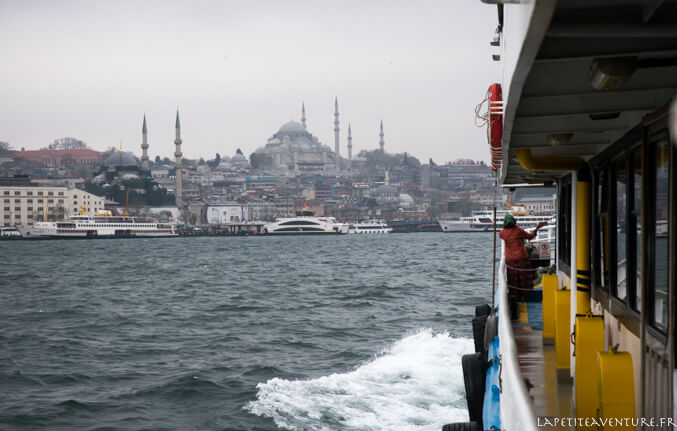 Le Bosphore à Istanbul