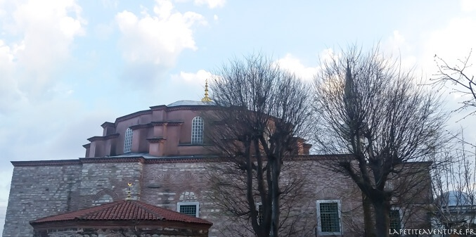petite sainte sophie à istanbul