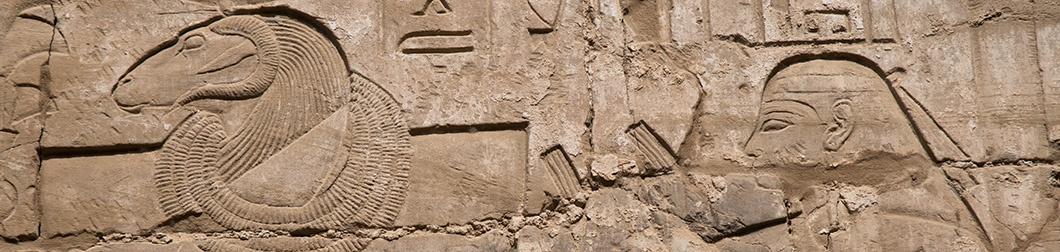louxor et hieroglyphe