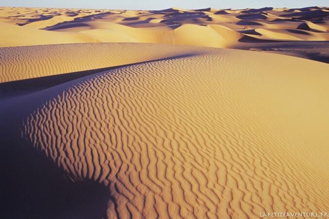 Dunes en Mauritanie