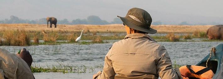 Zambeze en canoë