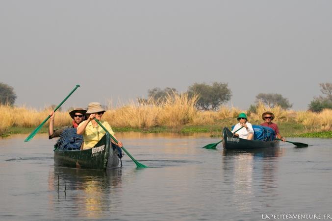 le zambèze sur l'eau