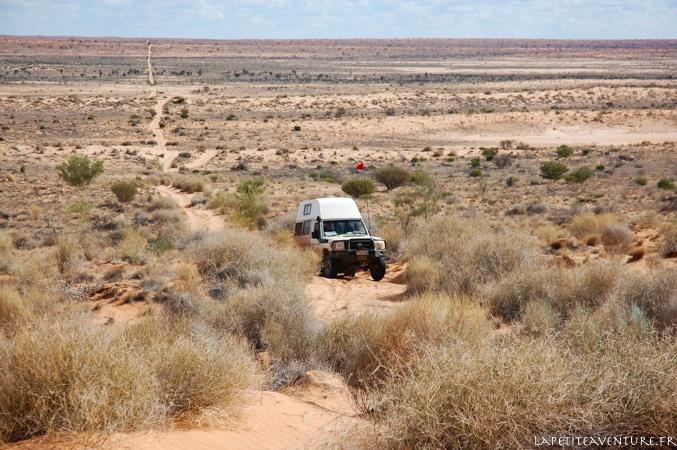 conduite du 4x4 dans le sable