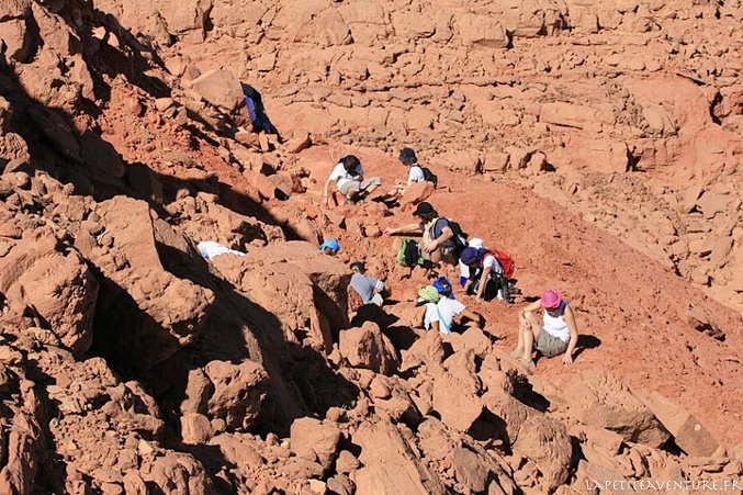 archéologues au Maroc
