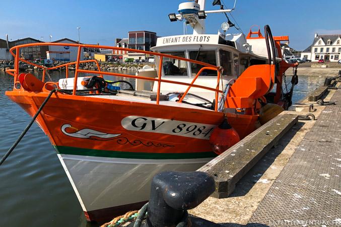 Bateau de pêche à St Guénolé