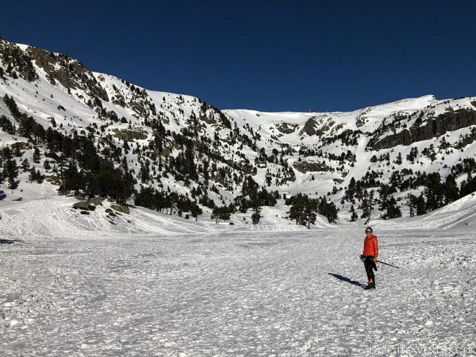 Le lac Achard à Chamrousse
