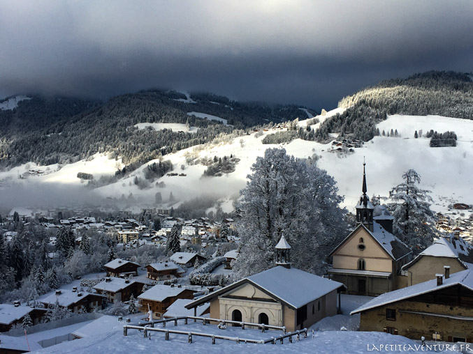 Megeve sous la neige