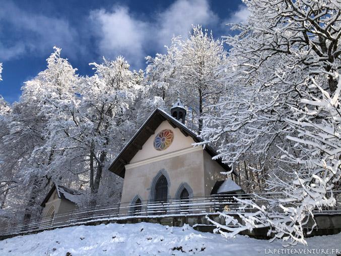 Chapelle du sanctuaire à Megeve