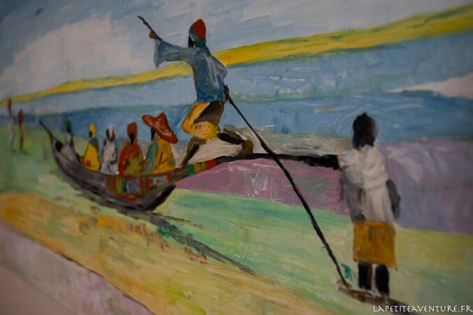 voyage sur le fleuve niger