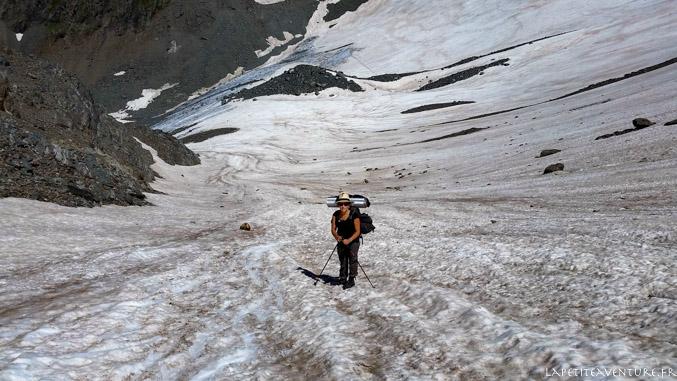 glacier de Freydane, massif de Belledone