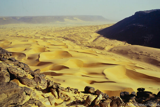 La passe de Tifoujar en Mauritanie
