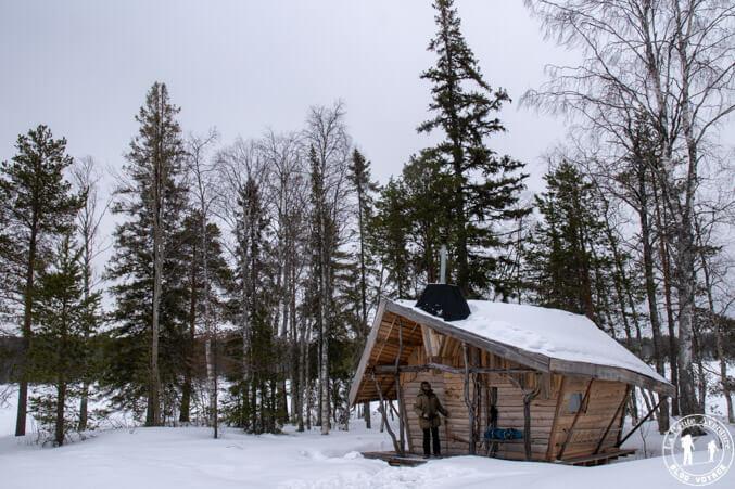 Cabane en Suède