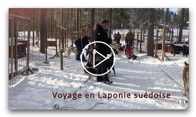 La Laponie suédoise en vidéo