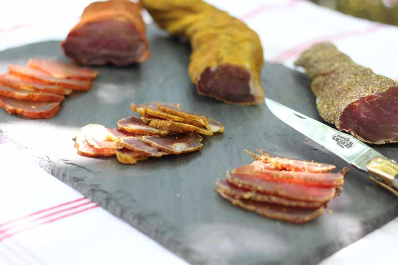 «Saucisson» de filet de porc séché