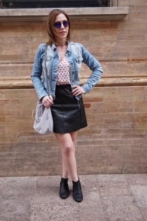 Look bleu jeans - La Petite Frenchie