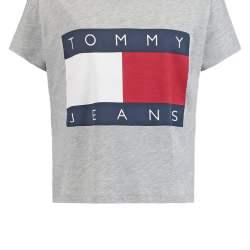T-shirt imprimé gris (taille XS) HILFIGER DENIM