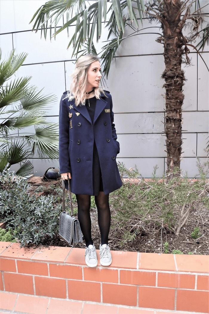 Look navy coat - La Petite Frenchie