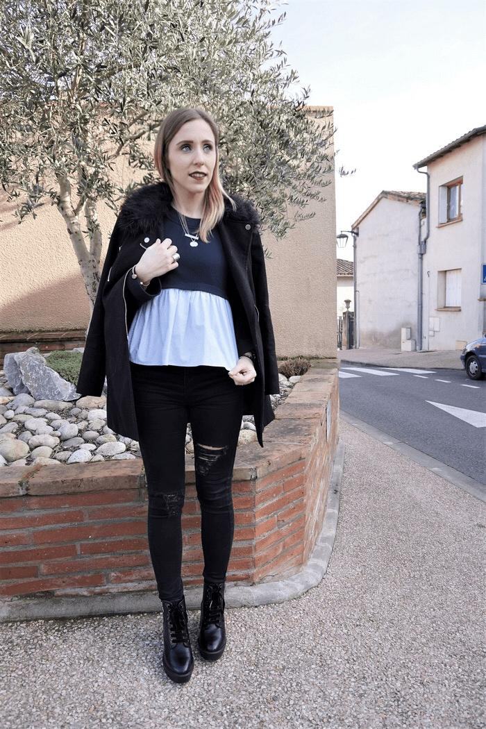 Look pull babydoll - La Petite Frenchie