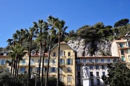 Vue depuis le Port de Nice