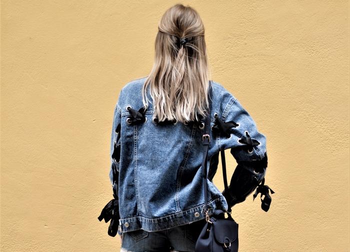 Look veste oversize & ananas - La Petite Frenchie