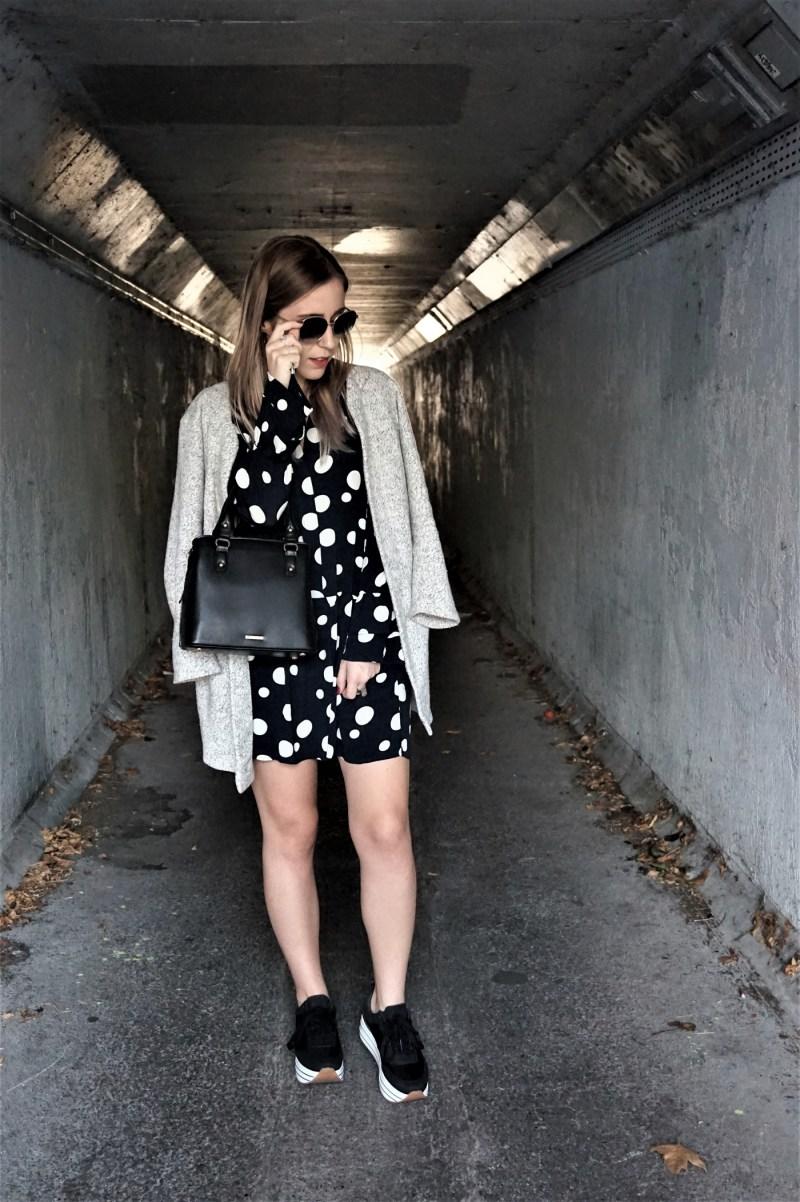 Look robe à pois - La Petite Frenchie