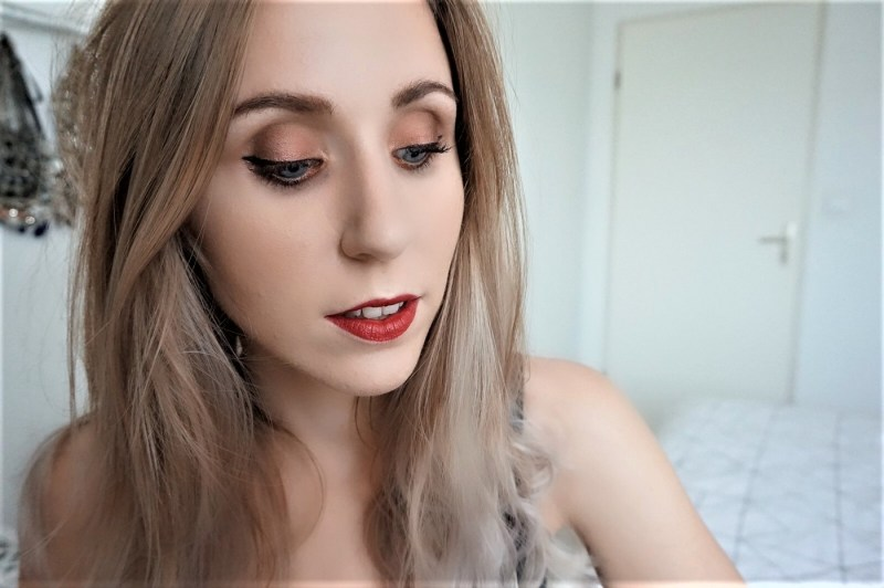 Tutoriel Naked Heat Urban Decay Warm Makeup Look - La Petite Frenchie
