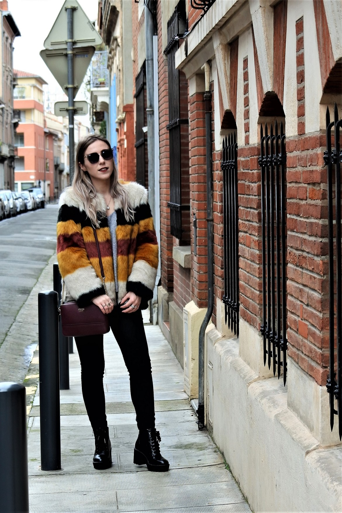 Look fake fur - La Petite Frenchie