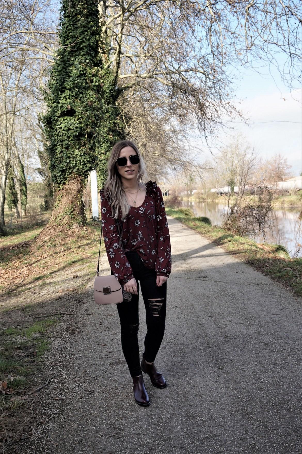Look blouse à volants - La Petite Frenchie