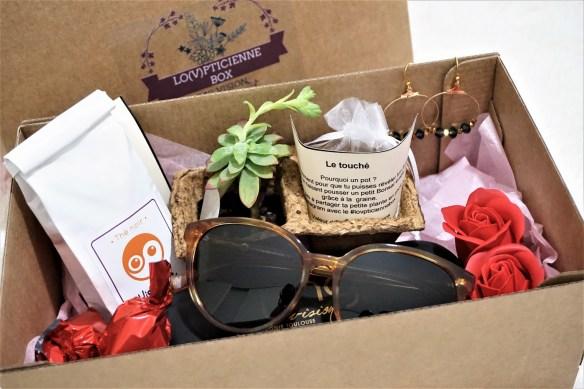 Opticien créateur MG Vision : Lancement de la box Saint-Valentin Lo(v)pticienne