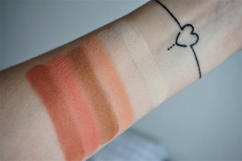 Avis swatchs palette Just Peachy Mattes Too Faced - La Petite Frenchie