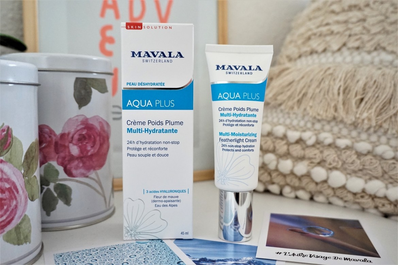 Soins visage Aqua Plus Mavala - La Petite Frenchie