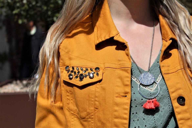 Look veste jaune et tendances printanières - La Petite Frenchie