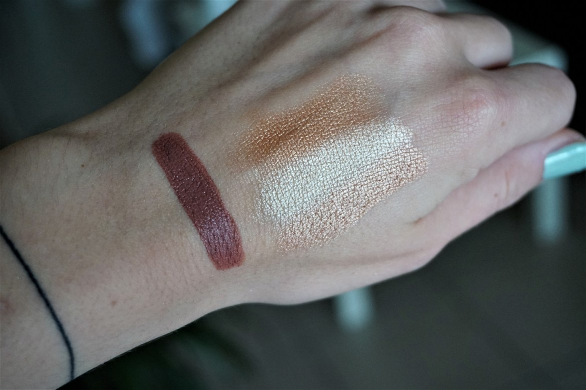 Swatchs collection Urban Decay x Kristen Leanne - La Petite Frenchie