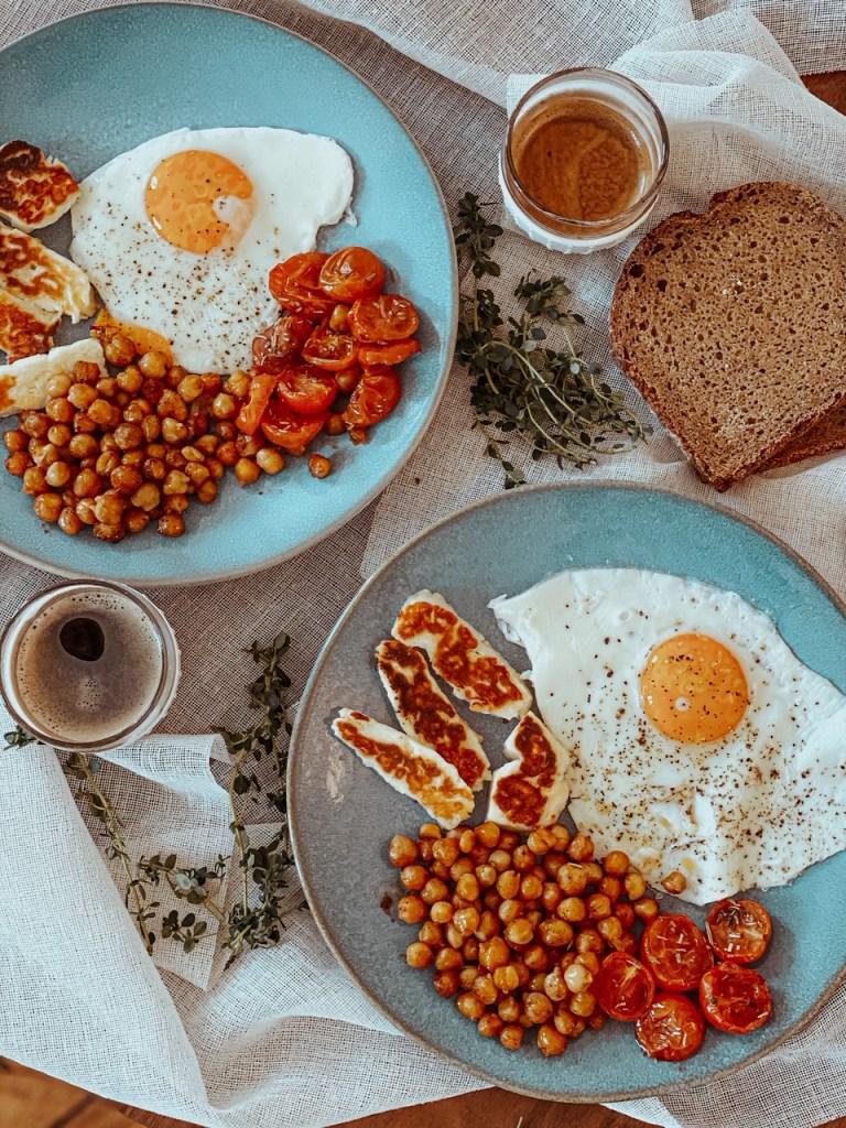 English breakfast végétarien - La petite liste de Manon