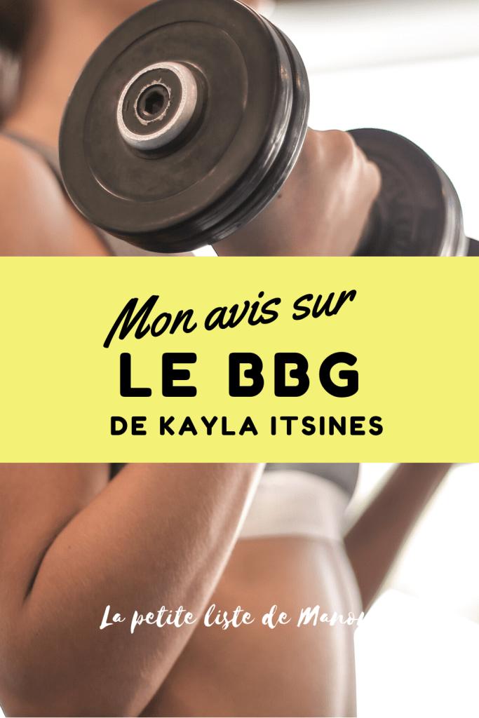 J'ai testé le BBG de Kayla Itsines pendant 12 semaines. Retrouvez mon avis sur ce programme sportif intensif sur le blog lapetitelistedemanon.com !