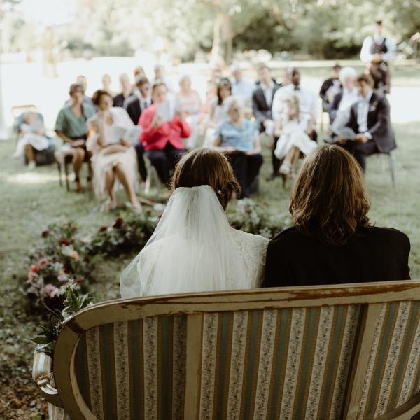 cérémonie mariage bohème normandie