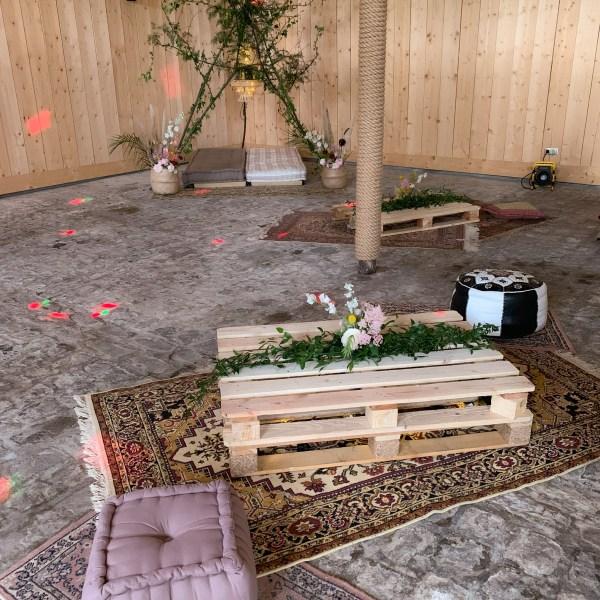 décoration mariage ambiance festival