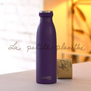 Botella Runbott City 500ml Violeta