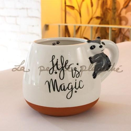 Mug Maposo Mapache 400ml
