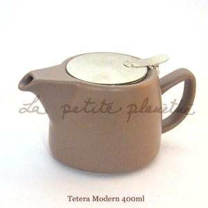 Tetera Modern 400ml Brown