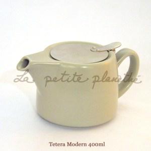 Tetera Modern 400ml Grey