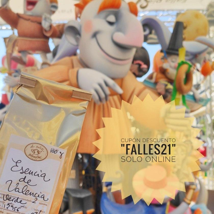 FALLES21 - Cupón de descuento del 10% por Fallas 2021