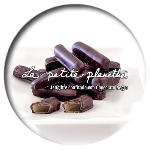Jengibre Confitado Con Chocolate Negro
