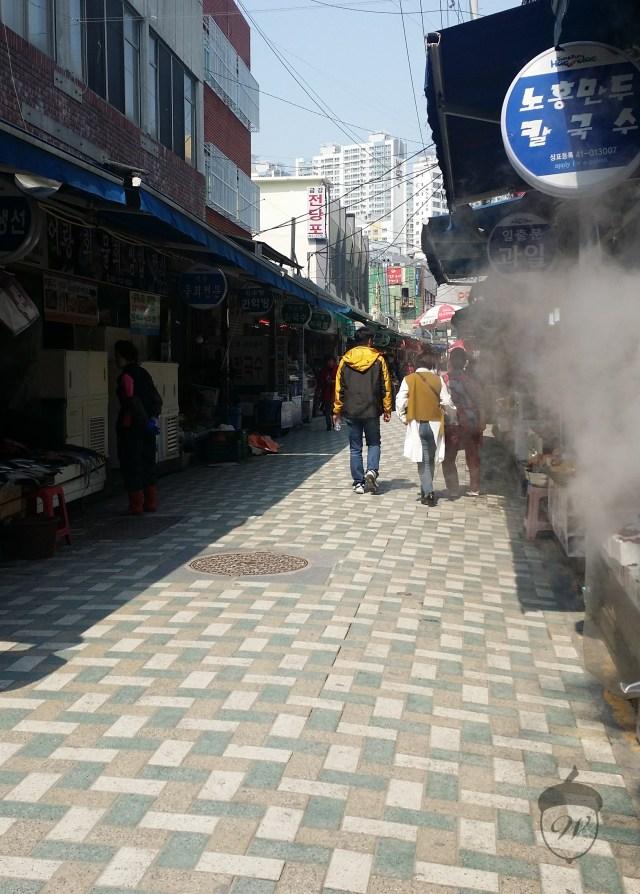 Busan Dumplings in Alley