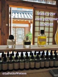 Create your own perfume in Seoul Korea with Aromind through Airbnb experiences