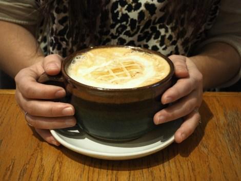 Edmonton hot drinks Mandolin Books and Coffee Company