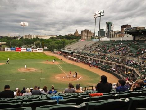 Edmonton Baseball La Petite Watson