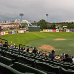 A Night of Edmonton Baseball Action