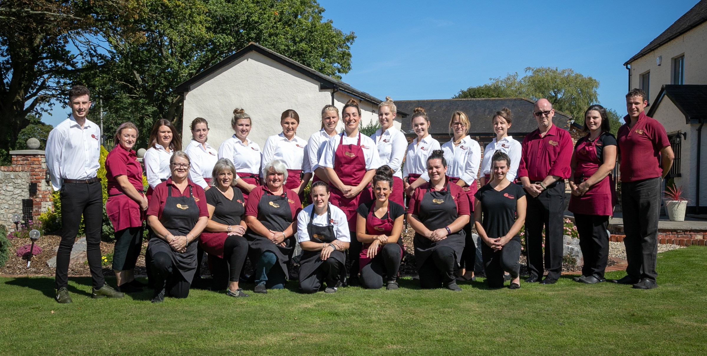 Lin and her team of chefs and staff